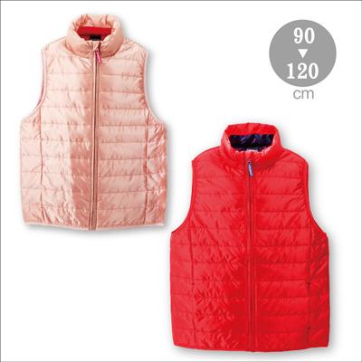 女童保溫纖維棉背心 15W-233401