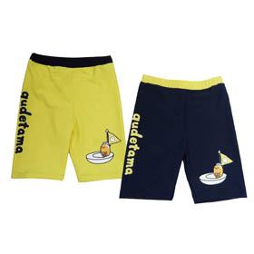 蛋黃哥  泳褲 (黃,丈青)GU17-G206