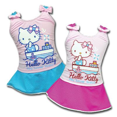 HelloKitty 兩件式泳裝 (藍、桃紅) KT14-561_售完
