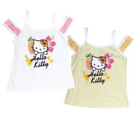 HelloKitty  休閒T恤  (白.黃)   KT15-704