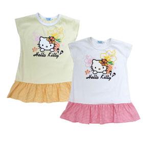 HelloKitty  休閒T恤  (白.黃)   KT15-708