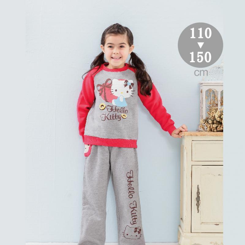 HELLO KITTY 休閒服套裝-童-(KT3321)