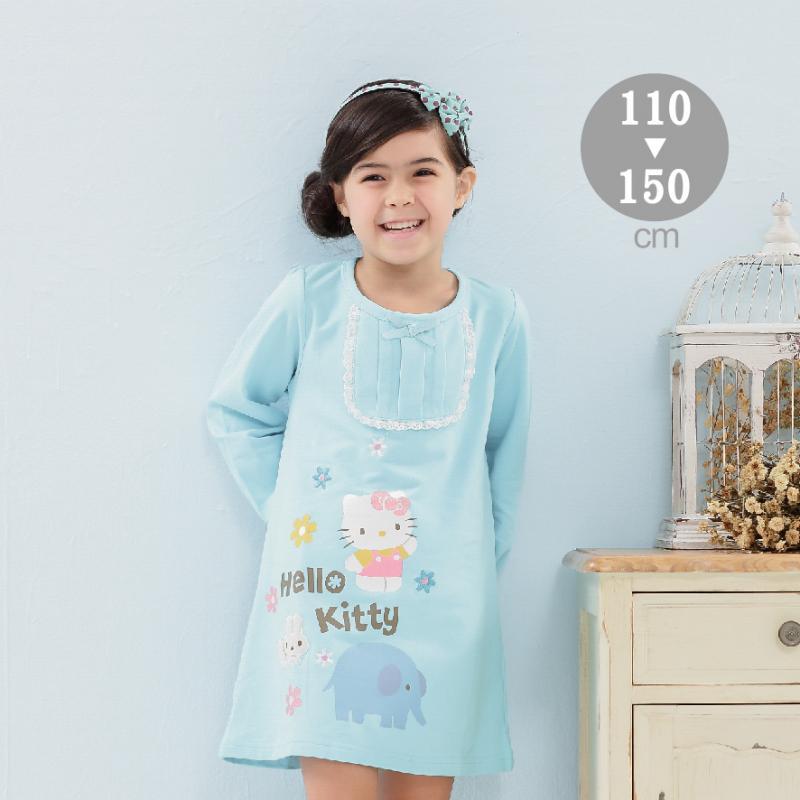 HELLO KITTY 連身洋裝-童-(KT6916)