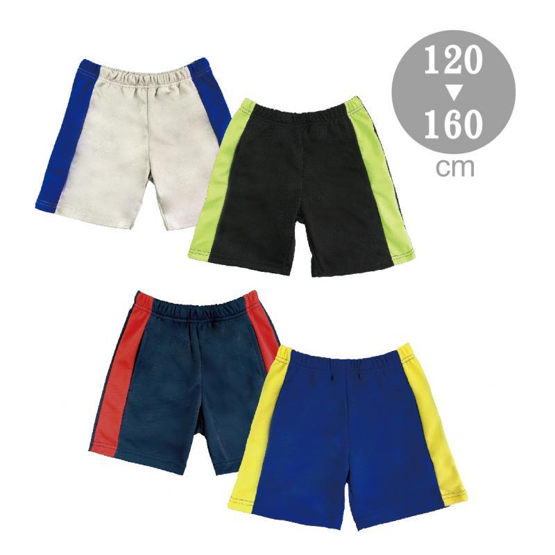 大男童配色吸排短褲S-F243802