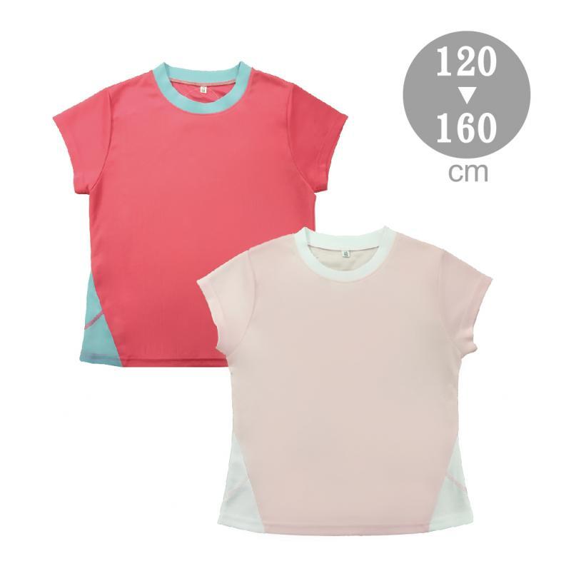 大女童配色吸排T恤S-F900201