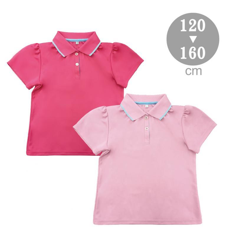大女童配色吸排POLO衫S-F900802