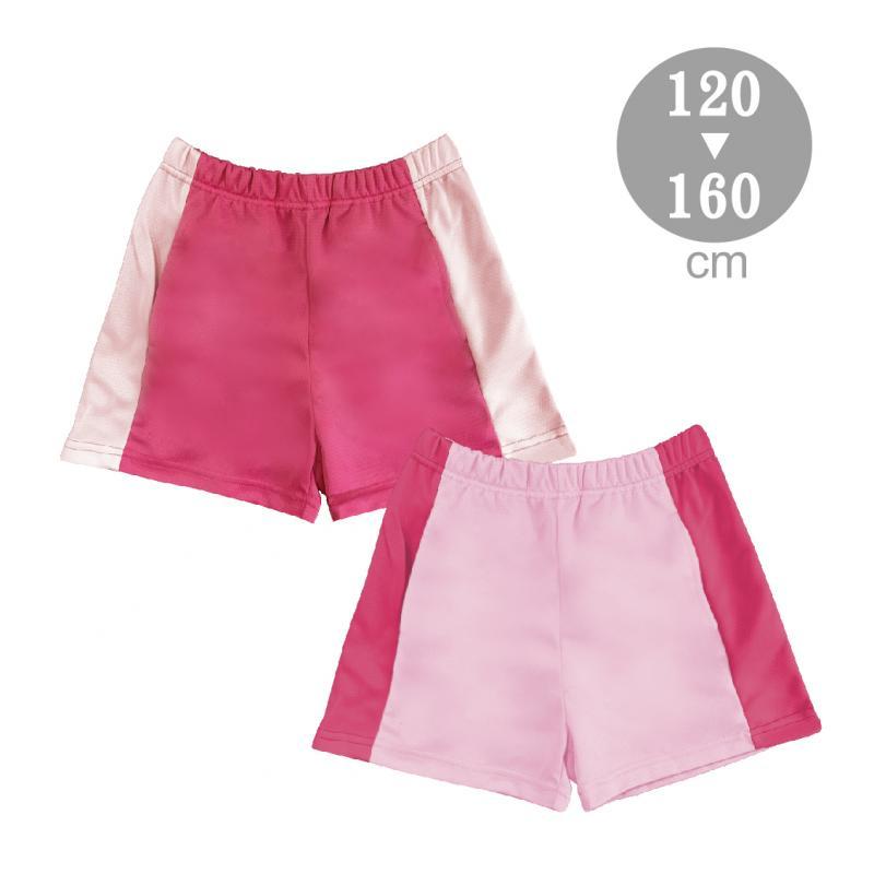 大女童配色吸排短褲S-F903302