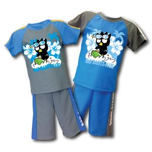 酷企鵝   兩件式泳裝  (灰,藍)  XO15-B001