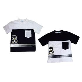 酷企鵝條紋T恤 (丈青、白) XO15-L005